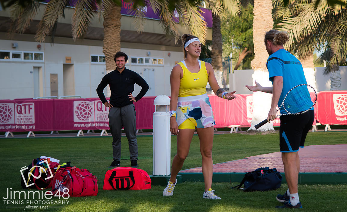 2020 Qatar Total Open, Tennis, Doha, Qatar, Feb 28
