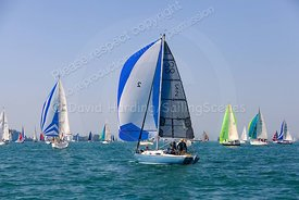 High Potential, CO2, Contessa 26, Round The Island Race 2019, 20190629544