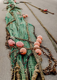 Fishing nets, Hirtshals