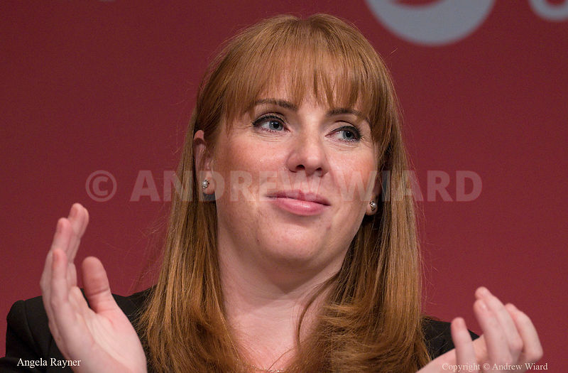 England, UK . 26.9.2017. Brighton. Labour Party Conference Tuesday. Angela Rayner..