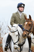 Jasper Tordoff at the meet. The Cottesmore Hunt at Town Park Farm 7/1
