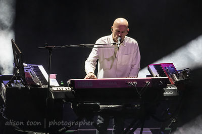 Mark Kelly, keys, Marillion with Friends from the Orchestra, Royal Albert Hall, London