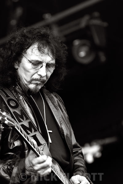 Tony Iommi performing live 24 July 2010