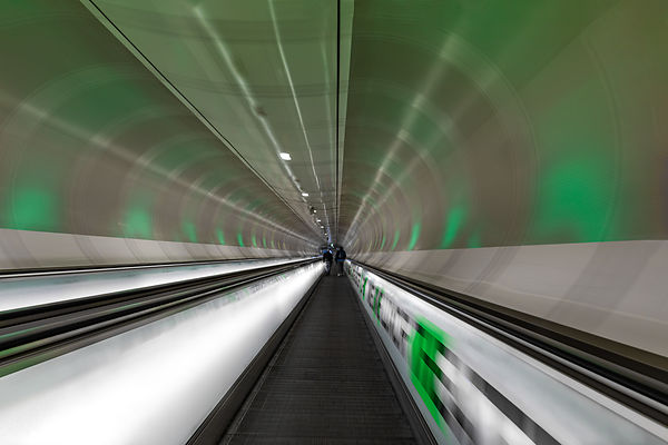 Interstellar travel - Wilhelminaplein metro station, Rotterdam