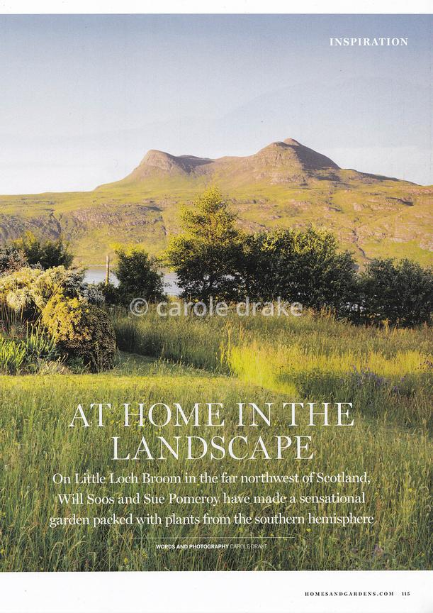 Durnamuck, Homes & Gardens, August 2019