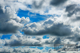 Cloud impression  - Europe, United Kingdom, Scotland, Outer Hebrides, North Uist, Lochmaddy (Highlands, Hebrides) - digital