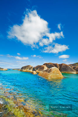 Coast landscape at Elephant Rocks - Australia, Australia, Western Australia, Southwest, William Bay National Park, Elephant R...