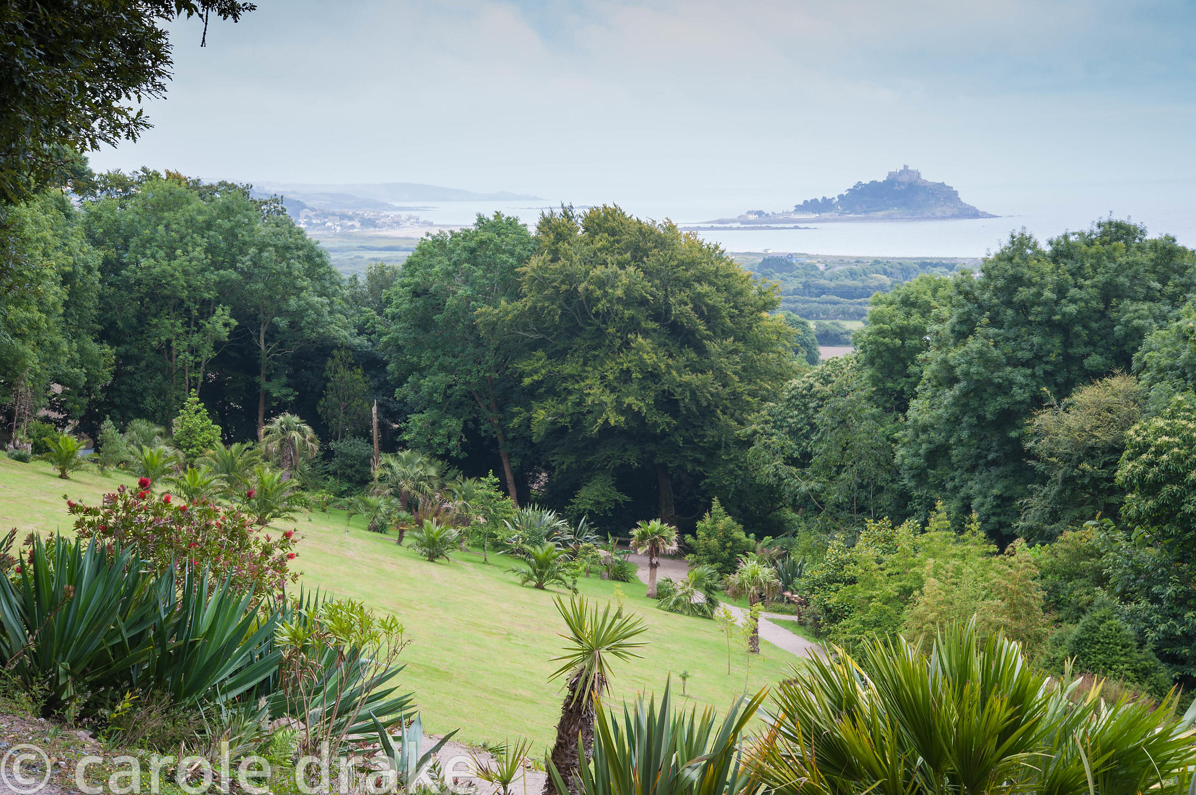 View from the garden to St Michael's Mount