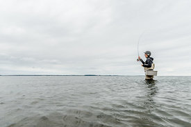 Danish woman fishing 4
