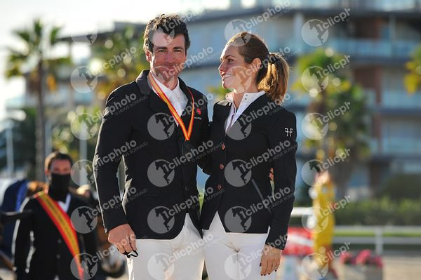 Oliva, Spain - 2020 December 20: Cto España Adultos  during Campeonato de España de Salto de Obstaculos.(photo: 1clicphoto)