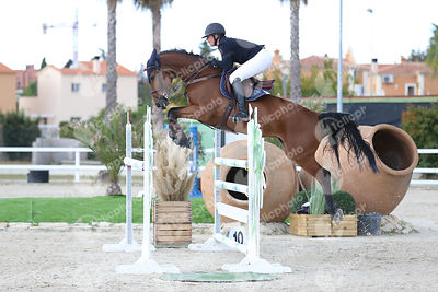 Oliva, Spain - 2019 October 20: Bronze tour 1m30 during CSI Mediterranean Equestrian Autumn Tour 1.(photo: 1clicphoto)