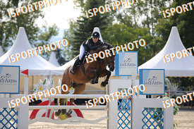 EBNER Nicole (AUT) and DUKE 16 during LAKE ARENA Equestrian Summer Circuit II, CSI2* - Good Bye Competition - 140 cm, 2019. 0...