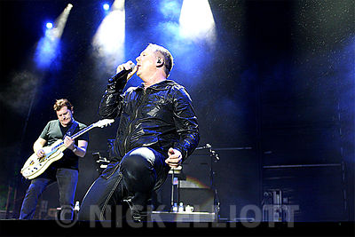 Simple Minds performing at Blickling Hall 17 July 2009
