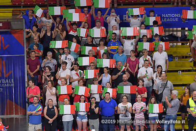 ITALY vs RUSSIA - VNL / Volleyball Nations League 2019 Women's - Pool 13, Week 4.