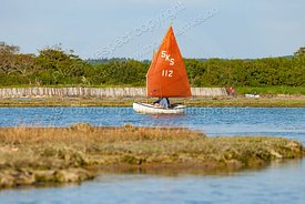 Keyhaven Scow in Newtown Creek