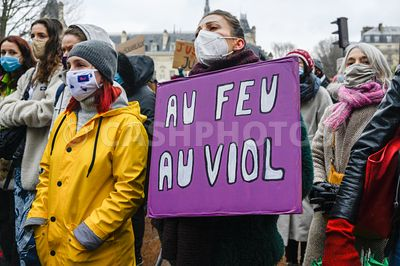 FRANCE : PARIS MANIFESTATION POUR RECLAMER LA JUSTICE POUR JULIE - PROTEST TO DEMAND JUSTICE FOR JULIE