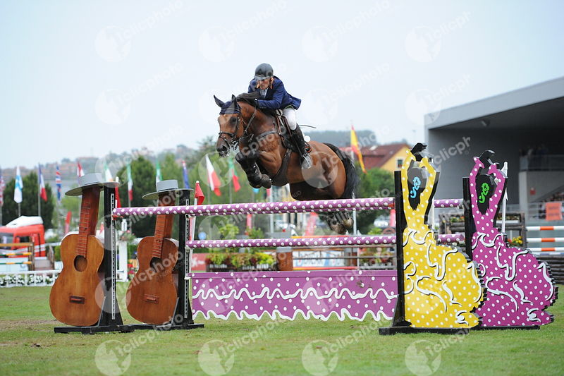 Gijon, Spain - 2019 September 1: GRAN PREMIO DE GIJON - 1m60 during CSIO5 Gijon.(photo: 1clicphoto.com)