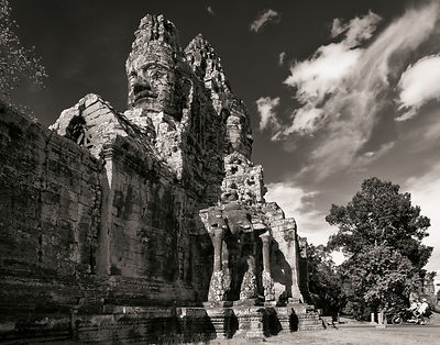 South Gate at Angkor Thom, Cambodia