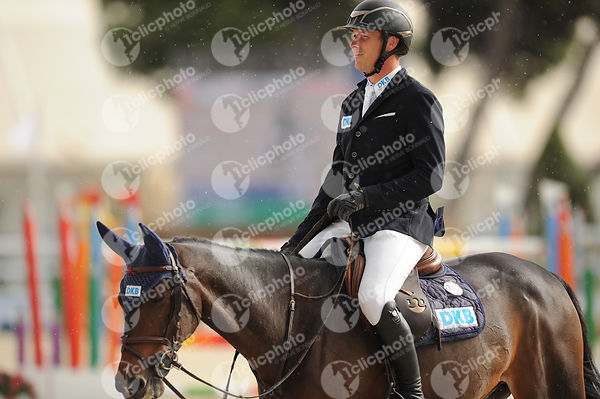 Oliva, Spain - 2019 October 20: Gold tour 1m50 - GP during CSI Mediterranean Equestrian Autumn Tour 1.(photo: 1clicphoto)