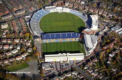 Headingley Stadium, Leeds,  aerial photograph