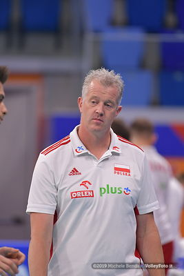POLONIA vs ARGENTINA / VNL FIVB Volleyball Nations League 2019 Men`s Pool 14 Week 4 presso Allianz Cloud Milano, 21 giugno 20...