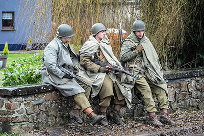 BELGIQUE : COMMEMORATIONS DES 75 ANS DE LA BATAILLE DES ARDENNES A BASTOGNE | COMMEMORATION OF THE 75 YEARS OF THE BATTLE OF ...