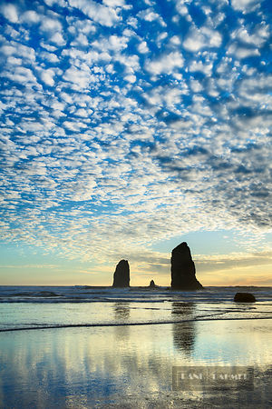 Ocean impression at Cannon Beach - North America, USA, Oregon, Clatsop, Cannon Beach - digital