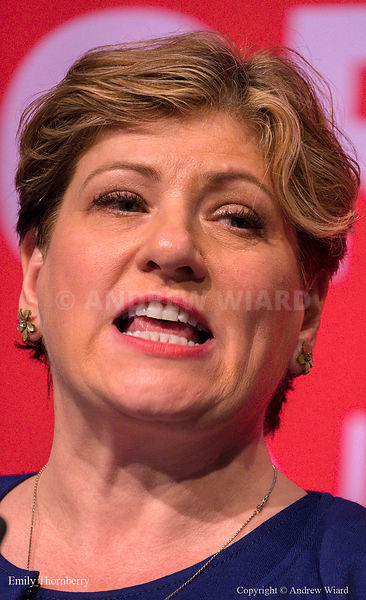 England, UK . 25.9.2017. Brighton. Labour Party Conference Monday. Emily Thornberry..