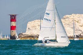 Ziggy, GBR4069T, Jeanneau Fun 23, Round The Island Race 2019,