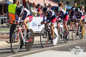 The 2012 UCI TTT Women Elite World Cycling Championships
