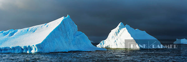 Iceberg  - Antarctica, Antarctica, South Orkney Islands (Drake Passage) - digital