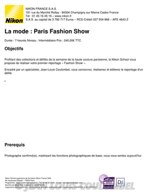 nikon-school-la-mode-paris-fashion-show