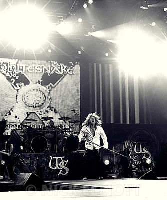 Whitesnake performing live at Trent FM Arena