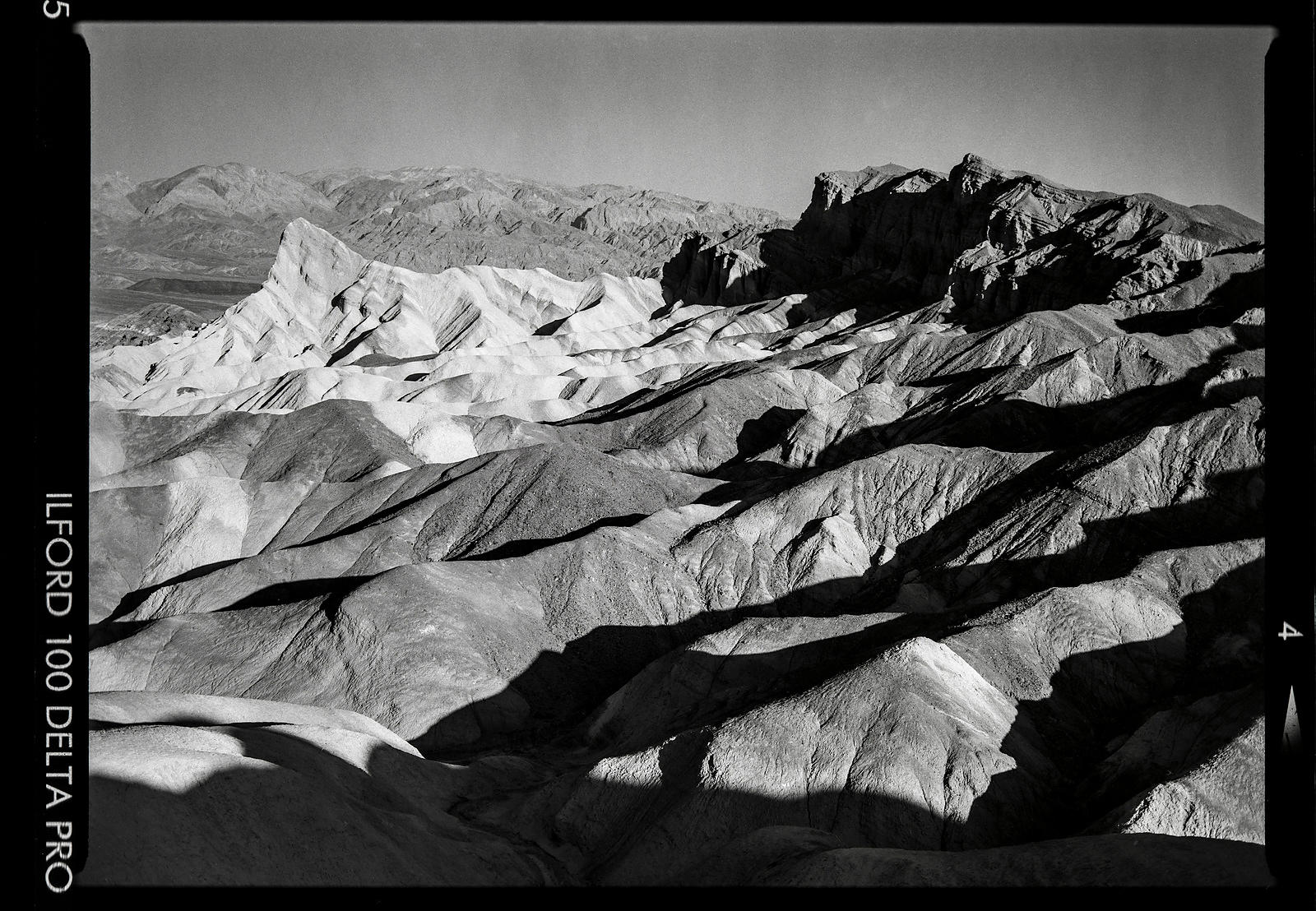 Zabriskie Point:  California 1997   Photographer Neil Emmerson  £975 inc uk vat:  Edition of 25.