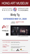 RE-OPENING and PROLONGATION of Birdy Tg Exhibition at the CHONGQING MUSEUM OF ART