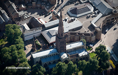 Holy Trinity Church, Coventry aerial photograph