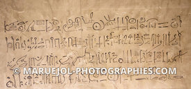 Graffito, tombe de Thoutmosis IV