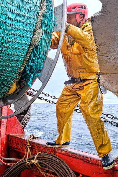 Photo report on the fishermen of Guilvinec