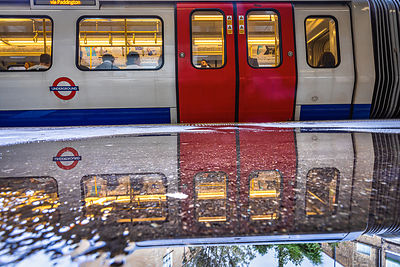 After the rain - Sloan Square Tube Station