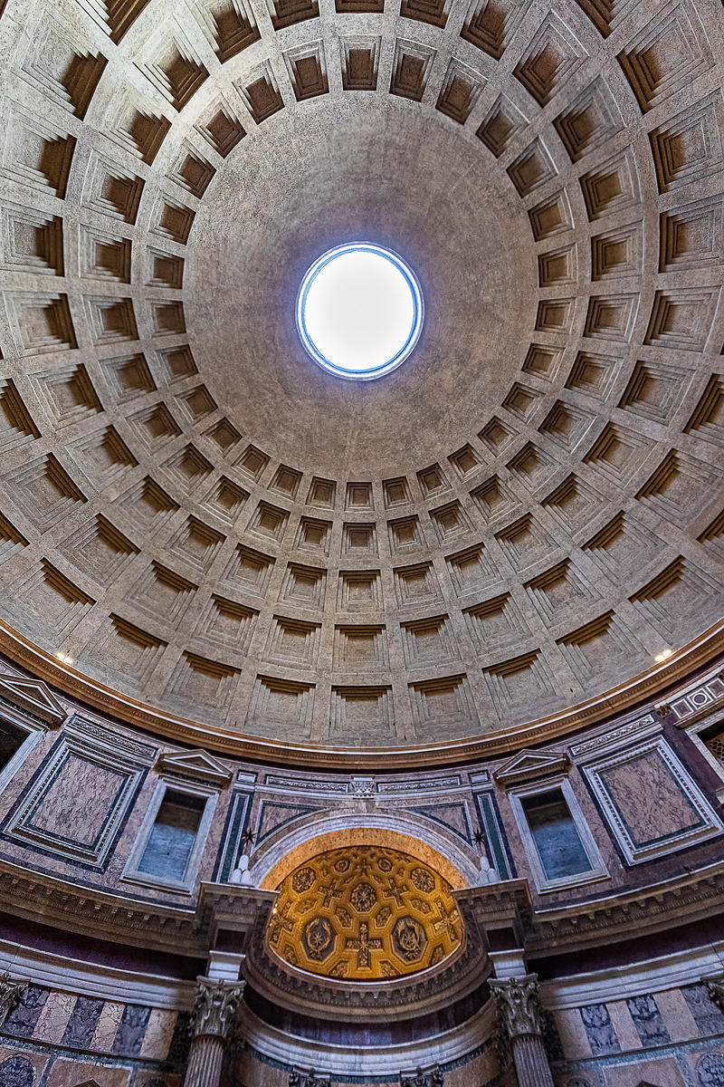 Oculus - Interior of the Pantheon