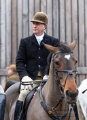 Peter Cooke at the meet. The Cottesmore Hunt at Brooke 12/11