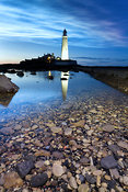 Noctilucent Clouds at St. Mary's Lighthouse