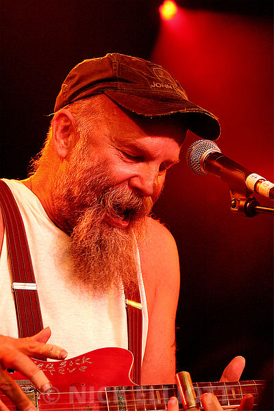 Seasick Steve performing live at Cambridge Folk Festival