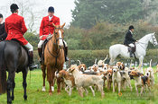 Chris Edwards - The Cottesmore Hunt at Toft