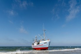 Fishing boats, Thorup Strand 16