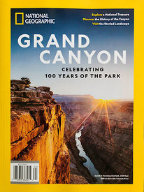 National geographic special Grand Canyon cover 2019