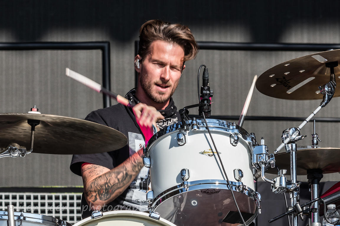 Ryan Meyer, drums, Highly Suspect
