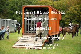 2019-09-12 KSB Bridge Hill Livery Hound Exercise