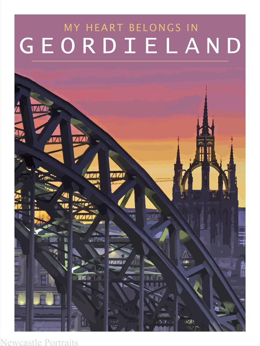 My Heart Belongs in Geordieland