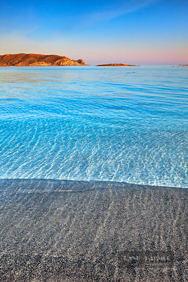 Ocean impression at Elafonisi Beach - Europe, Greece, Crete, Chania, Elafonisi - digital